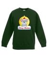 Kersttrui muis kerstbal groen voor jongens en meisjes 3-4 jaar (98/104) Groen