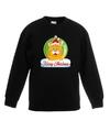 Kersttrui oranje kat / poes kerstbal zwart voor jongens en meisjes 14-15 jaar (170/176) Zwart