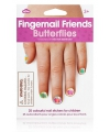 Meisjes kado nagel stickers vlinder