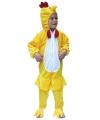 Kippenpak verkleedkleding voor kids 104 Geel