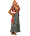 Kleurrijk hippie kostuum 40 (L) Multi