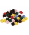 Hobby pompons 7mm kleurenassortiment