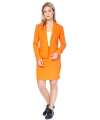 Koningsdag mantelpakje voor dames 36 (S) Oranje