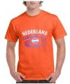 Koningsdag oranje Nederland vlag t-shirts XL Oranje