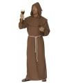 Kostuum kapuzijner monnik L Bruin