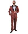 Kostuum Schotse ruit voor heren 56-58 (L) Rood