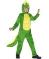 Krokodillen huispak voor kinderen 130-143 (7-9 jaar) Groen