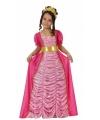 Lange roze prinsessen jurk voor kinderen 116 (5-6 jaar) Roze