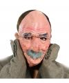 Luxe opa masker van latex