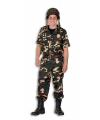 Leger soldaten kostuum heren 54 (XL) Groen