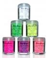 Lichtroze UV make up glitters