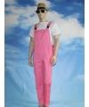Lichtroze tuinbroek voor dames en heren XL Roze