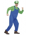 Loodgieter outfit groen voor heren M/L (T-04) Multi