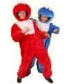Look-a-like Elmo kostuum One size Rood