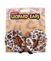 Luipaarden verkleed setje oren