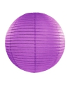 Donker paarse lampion rond 35 cm