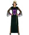Luxe heksen kostuum voor dames 42-44 (L/XL) Multi