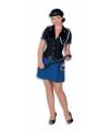 Luxe politie kostuum voor dames 40 Multi