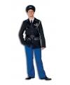 Luxe politie kostuum voor heren 50 Multi