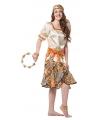 Luxe zigeuner kostuum dames 42 (XL) Multi
