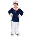 Matroos kostuum voor kinderen 128 Multi