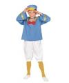 Matrozen eend kostuums voor kinderen 110-122 (4-6 jaar) Multi
