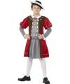 Middeleeuwse koning kostuum voor jongens 145-158 (10-12 jaar) Multi