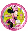 Minnie Mouse gebaksbordjes 8 stuks