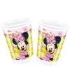 Minnie Mouse feest bekertjes 200 ml