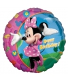Minnie Mouse folie ballonnen Happy Birthday