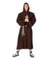 Monnik kostuum voor volwassenen 48-50 (S/M) Bruin