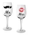 Mr & Mrs wijnglazen 430 ml