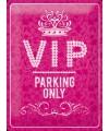 VIP thema muurdecoratie VIP parking
