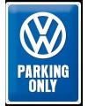 Tinnen plaat VW 30 x 40 cm