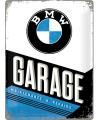 Tinnen plaatje BMW 30 x 40 cm