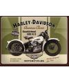 Tinnen plaatje Harley Davidson 15 x 20 cm