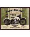 Tinnen plaatje Harley Davidson 30 x 40 cm