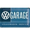 Metalen wandplaatje VW