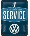Tinnen plaatje Volkswagen 15 x 20 cm