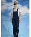 Navy tuinbroek voor dames en heren S (36/48) Blauw
