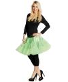 Neon groen petticoat voor dames One size Groen
