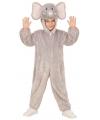 Olifant verkleedpak voor kinderen 98 Grijs