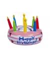 Opblaas verjaardagstaart