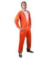 Oranje campingsmoking voor heren XL (42/56) Oranje