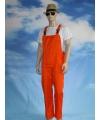 Oranje tuinbroek voor dames en heren M (38/50) Oranje