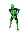Originele morphsuit skelet L (160-175 cm) Multi
