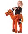 Paarden kostuum voor kids One size Bruin