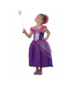 Paarse sprookjes jurk voor meisjes 140 Paars