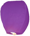 Paarse geluksballon