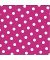 Roze servetten 30 stuks 33 cm